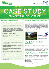 Princess Alice Hospice case study