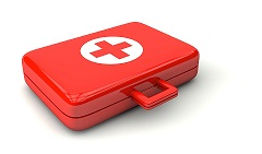 First aid box (smaller image)